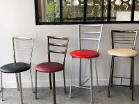 Bénéficiez d'un confort optimal avec les Chaises et Tabourets MÉTAL de AP DIFFUSION !