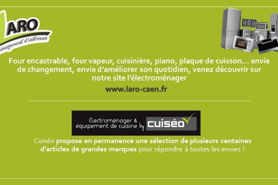 Un grand choix d'électroménager et équipement de cuisine avec Laro